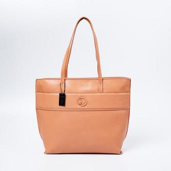 CAPRESE Panelled Handbag with Flat Handles