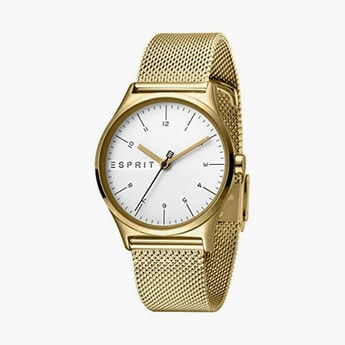 ESPRIT Women Analog Watch with Mesh Strap - ES1L034M0075