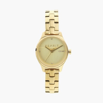 ESPRIT Women Crystal-Encrusted Analog Watch - ES1L054M0065