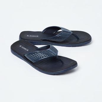 FORCA Weave Textured Flip-Flops
