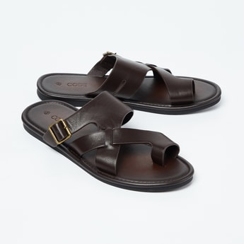 CODE Buckled Toe-Strap Sandals