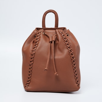 GINGER Textured Backpack