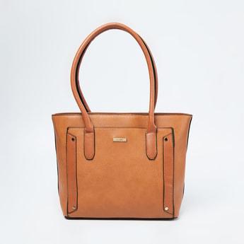 CODE Textured Shoulder Bag