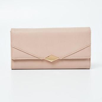 GINGER Textured Tri-Fold Wallet