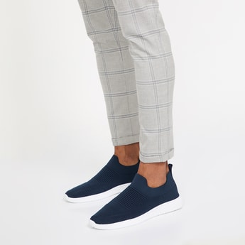 FORCA Textured Casual Slip-ons