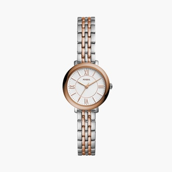 FOSSIL Jacqueline Mini Women Dual-Toned Analog Watch - ES4612