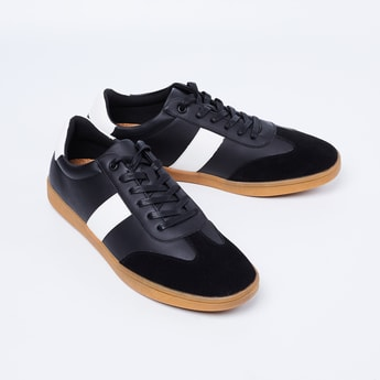 FORCA Panelled Lace-Up Shoes