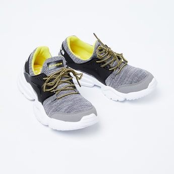 KAPPA Panelled Lace-Up Sports Shoes