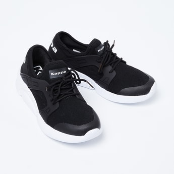 KAPPA Textured Lace-Up Sports Shoes