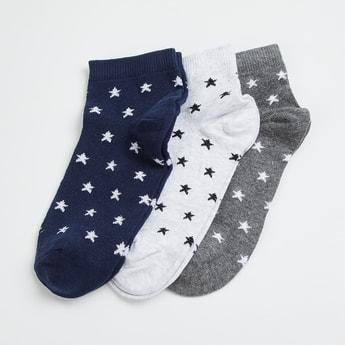GINGER Women Jacquard Socks - Pack of 3