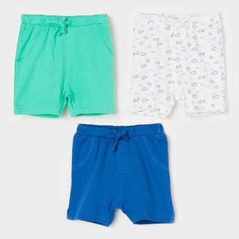 FS MINI KLUB Printed Shorts - Set of 3 Pcs.