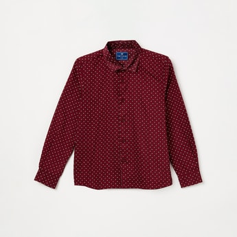 FAME FOREVER KIDS Printed Casual Shirt