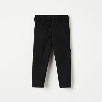 JUNIORS Solid Slim Fit Trousers