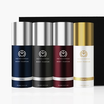 THE MAN COMPANY Multifaceted Non-Gas Body Perfume Combo-Pack of 4