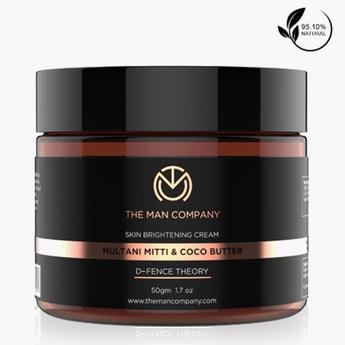 THE MAN COMPANY Multani Mitti and Coconut Butter Brightening Cream