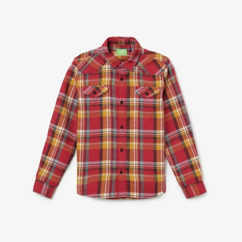 BOSSINI Checked Casual Shirt