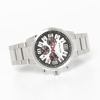 POLICE Men Water-Resistant Multifunctional Watch - PL15538JS04MW