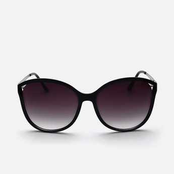 BEBE Women UV-Protected Gradient Butterfly Sunglasses
