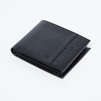 CODE Genuine Leather Textured Wallet