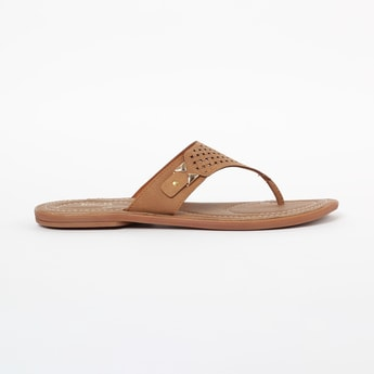 INC.5 Flat Sandals with Braided Straps