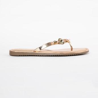 INC.5 Embellished Flat Sandals