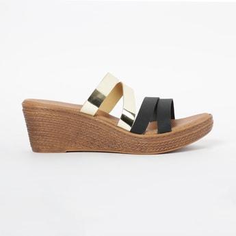 INC.5 Textured Platforms with Wedge Heels