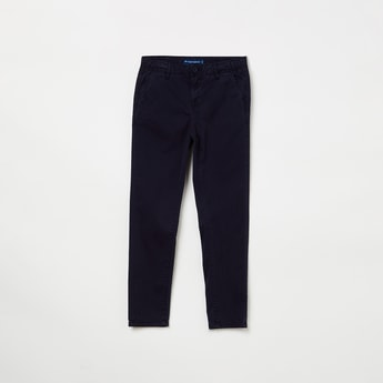 FAME FOREVER YOUNG Solid Low Rise Chinos