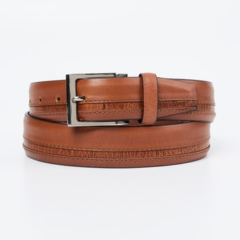 CODE Genuine Leather Panelled Belt