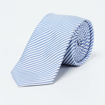 CODE Striped Formal Tie