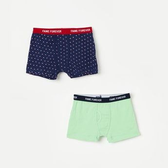FAME FOREVER Assorted Boxers- Pack of 2