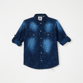 GINI & JONY Stonewashed Denim Shirt
