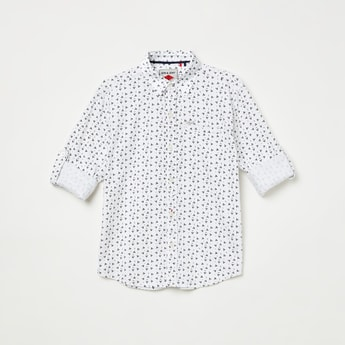 GINI & JONY Printed Full-Sleeves Shirt