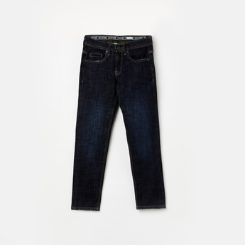 BOSSINI Stonewashed Slim Fit Jeans