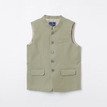 FAME FOREVER YOUNG Textured Waistcoat