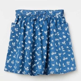 FAME FOREVER KIDS Floral Print A-line Skirt