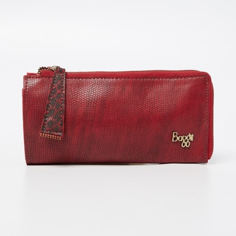 BAGGIT Textured Wallet With Detachable Sling