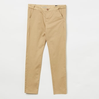 ALLEN SOLLY Solid Trousers