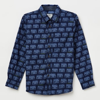 PEPE JEANS Printed Full Sleeves Shirt