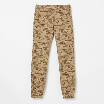 PEPE JEANS Camouflage Print Joggers