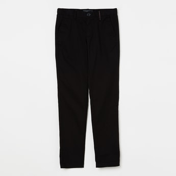 INDIAN TERRAIN Solid Low Rise Trousers