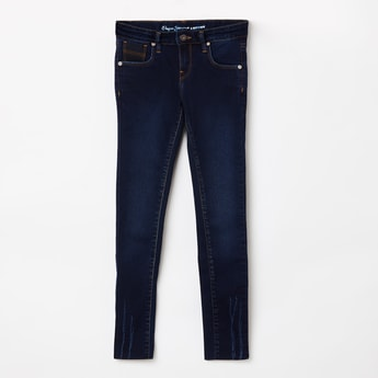 PEPE JEANS Distressed Skinny Fit Jeans