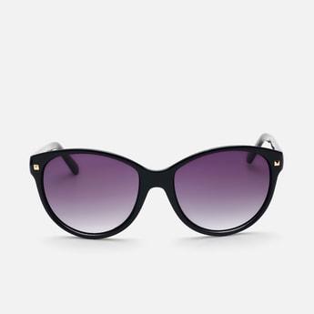 BEBE Women UV-Protected Oval Sunglasses- BEBE3034C1S