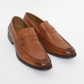 RED TAPE Genuine Leather Penny Loafers