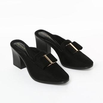CATWALK Embellished Block Heels