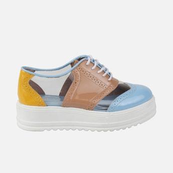 CATWALK Colourblock Brogue Saddle Shoes