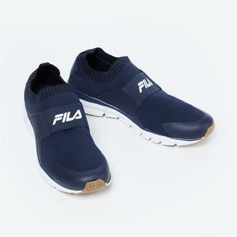 FILA Hanjo Textured Sock-Knit Shoes