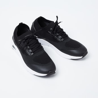 FILA Brue Textured Lace-Up Shoes