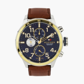 TOMMY HILFIGER Men Water-Resistant Multifunctional Watch - NBTH1791137