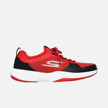 SKECHERS Colourblocked Lace-Up Sports Shoes