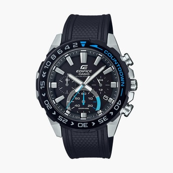 CASIO Edifice Men Solar & Sapphire Chronograph Watch - EFS-S550PB-1AVUDF (ED477)